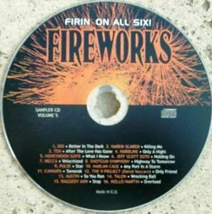 Fireworks Sampler Volume 5 - Cover
