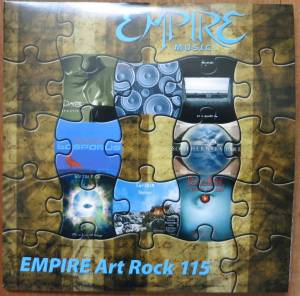 Cover - Dante: Empire Art Rock - E.A.R. 115