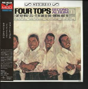 Cover - Four Tops: Second Album