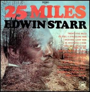 Cover - Edwin Starr: 25 Miles