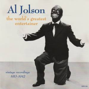 Cover - Al Jolson: World's Greatest Entertainer, The