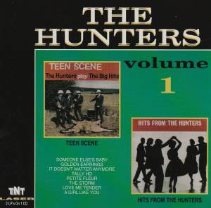 Cover - Hunters, The: Volume 1 - Teen Scene / Hits From The Hunters