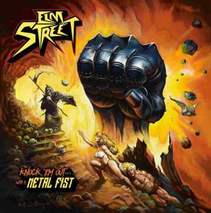 Elm Street: Knock 'em Out… With A Metal Fist - Cover