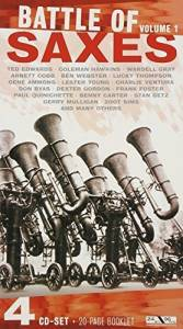 Cover - Charlie Ventura: Battle Of Saxes Volume 1