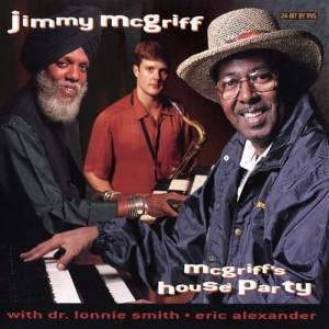 Jimmy McGriff: McGriff's House Party - Cover