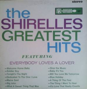 The Shirelles: Shirelles Greatest Hits, The - Cover