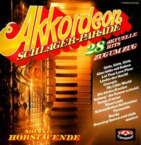 Cover - Horst Wende: Akkordeon-Schlagerparade