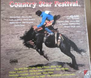 Cover - Jack Fender: Country Star Festival