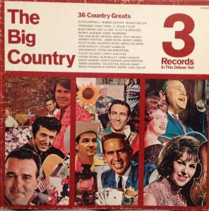 Cover - Jimmie Skinner: Big Country 36 Country Greats, The