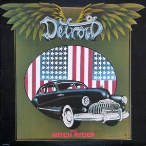 Cover - Mitch Ryder: Detroit With Mitch Ryder