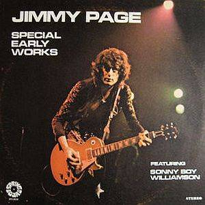 Cover - Jimmy Page: Special Early Works Featuring Sonny Boy Williamson
