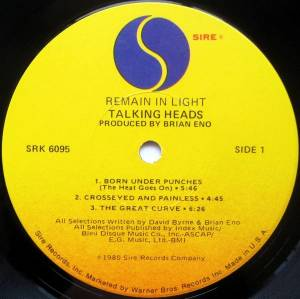 Talking Heads: Remain In Light (LP) - Bild 3