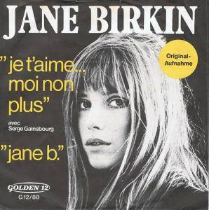 Jane Birkin & Serge Gainsbourg: Je T'Aime... Moi Non Plus / Jane B. - Cover