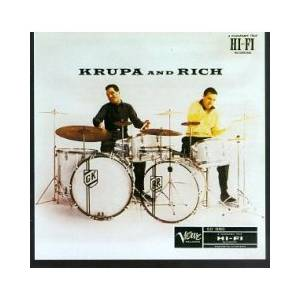 Cover - Gene Krupa & Buddy Rich: Krupa And Rich