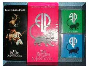 Emerson, Lake & Palmer: Return Of The Manticore, The - Cover