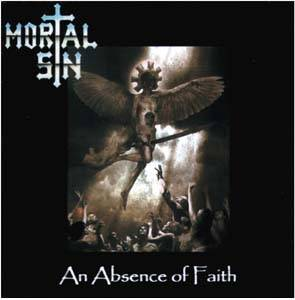 Mortal Sin: Absence Of Faith, An - Cover