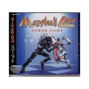 Marshall Law: Power Game - Cover