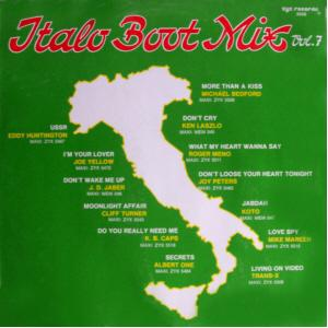 Italo Boot Mix Vol. 07 - Cover
