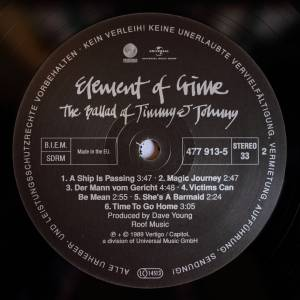 Element Of Crime: The Ballad Of Jimmy & Johnny (LP) - Bild 6