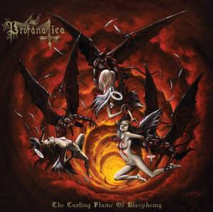 Cover - Profanatica: Curling Flame Of Blasphemy, The