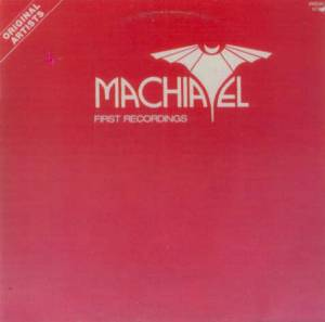Cover - Machiavel: First Recordings