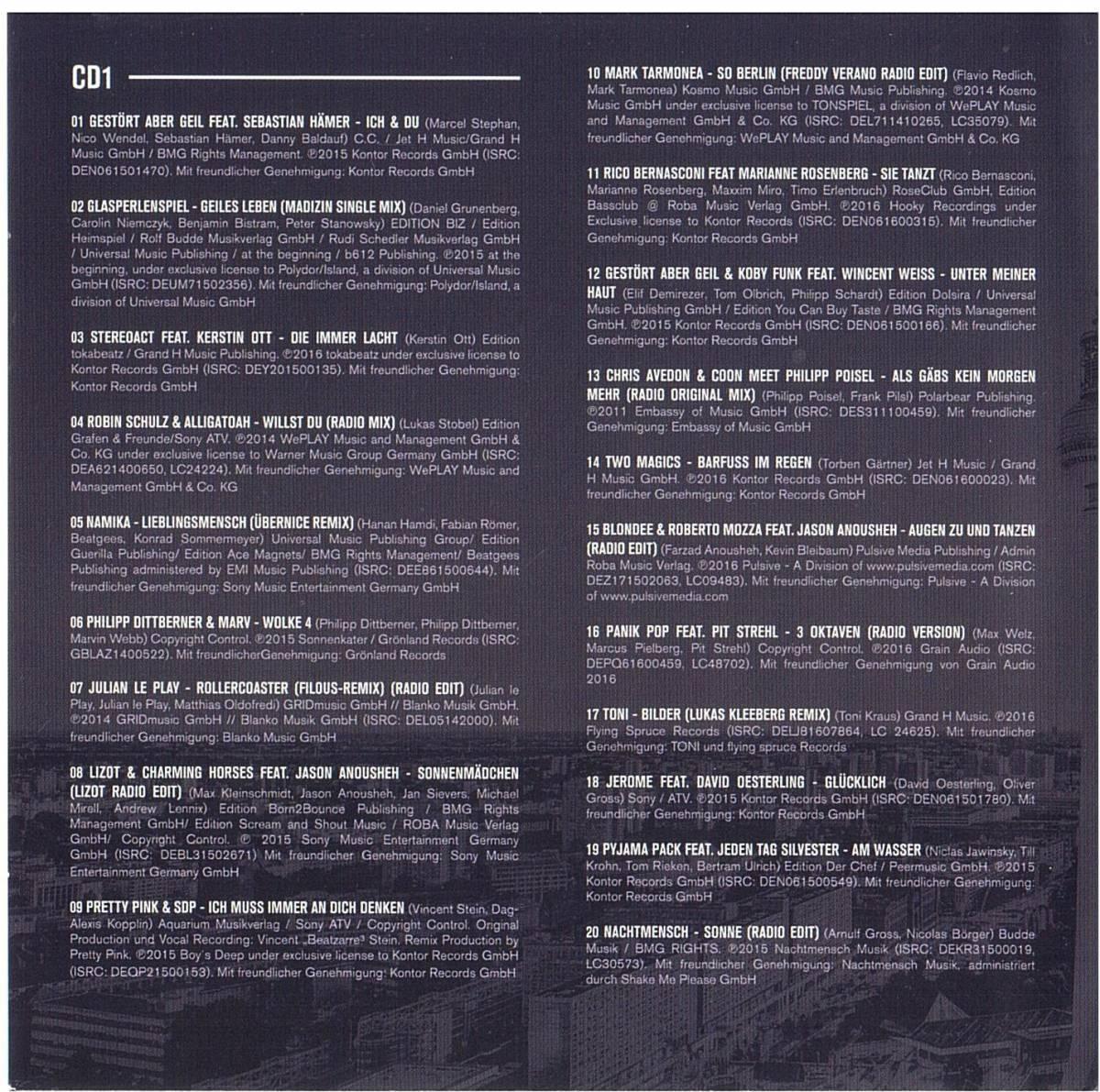 DEUTSCHHOUSE - 2-CD (2016)