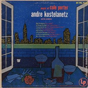 Cole Porter: Music Of Cole Porter / Andre Kostelanetz And His Orchestra - Cover