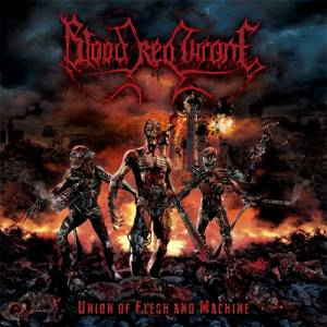 Cover - Blood Red Throne: Union Of Flesh And Machine
