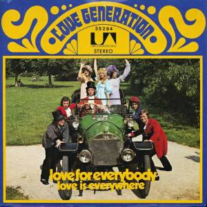 Cover - Love Generation: Love For Everybody