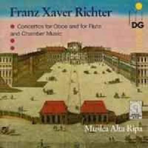 Cover - Franz Xaver Richter: Concertos And Chamber Music