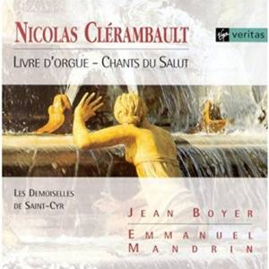 Cover - Louis-Nicolas Clérambault: Livre D'orgue / Chants Du Salut
