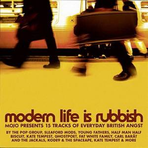 Cover - Young Fathers: Mojo Presents Modern Life Is Rubbish