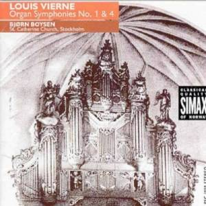 Cover - Louis Vierne: Organ Symphonies No. 1 & 4