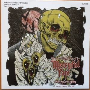 Mercyful Fate: Spectacle Of Might - Melissa Europe Tour 1984 - Cover