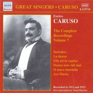Cover - Guy d'Hardelot: Enrico Caruso - The Complete Recordings Vol. 7