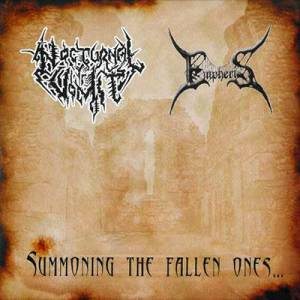 Nocturnal Vomit: Summoning The Fallen Ones... - Cover