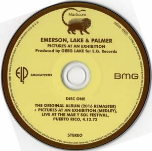 Emerson, Lake & Palmer: Pictures At An Exhibition (2-CD) - Bild 3