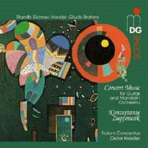 Cover - Carl Stamitz: Concert Music For Guitar And Mandolin Orchestra ~ Konzertante Zupfmusik