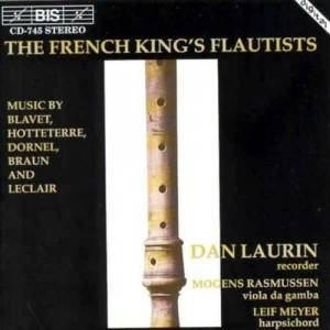 Cover - Louis-Antoine Dornel: French King's Flautists, The