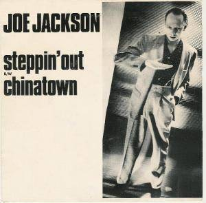 Joe Jackson: Steppin' Out - Cover