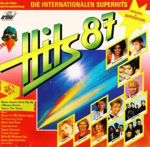 Hits '87 - Die Internationalen Superhits - Cover