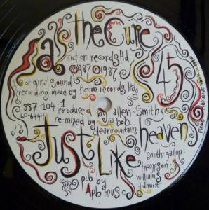 "The Cure: Just Like Heaven (12"") - Bild 3"