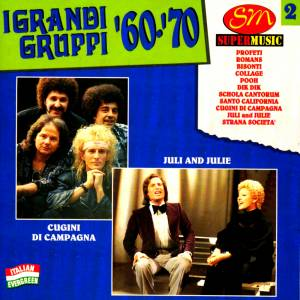 Cover - Juli & Julie: I Grandi Gruppi '60 - '70 Vol. 2