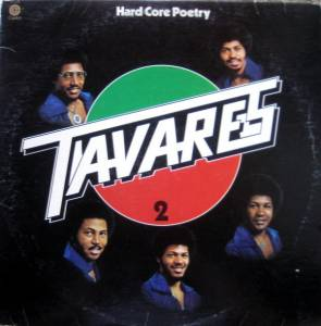 Cover - Tavares: Hard Core Poetry