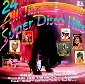 24 All Time Super Disco Hits - Cover
