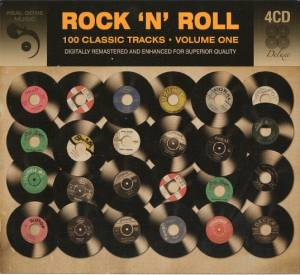 Cover - Genies, The: Rock 'n' Roll 100 Classic Tracks * Volume One