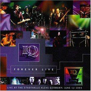 IQ: Forever Live - Cover