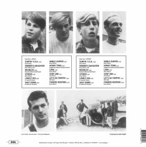 The Beach Boys: Surfin' U.S.A. (LP) - Bild 2
