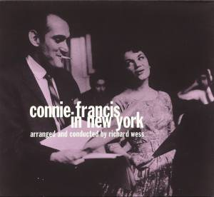 Cover - Connie Francis: Connie Francis In New York