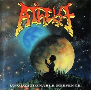 Atheist: Unquestionable Presence - Cover